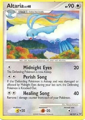 Altaria - 18/127 - Rare NM Platinum Pokemon 2B3