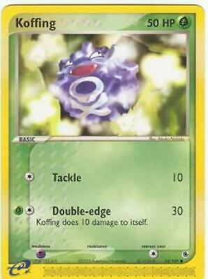 6x Koffing - 54/109 - Common NM Ruby & Sapphire Pokemon