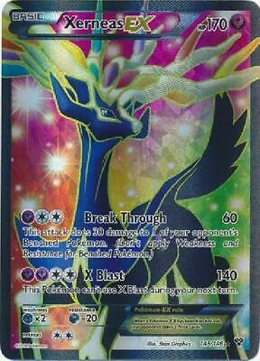 Xerneas-EX - 146/146 - Full Art Ultra Rare NM XY (Base Set) Pokemon 3Q6
