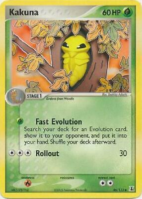Kakuna - 46/113 - Uncommon NM Delta Species Pokemon 2B3