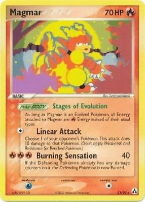 Magmar - 21/92 - Rare NM Legend Maker Pokemon 2B3
