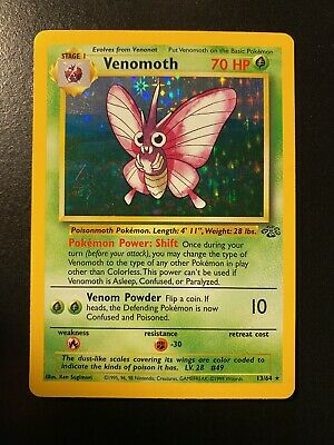 Pokemon Venomoth 13/64 Jungle LP-MP