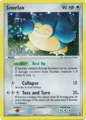 Snorlax - 15/112 - Holo Rare PL FireRed & LeafGreen Pokemon