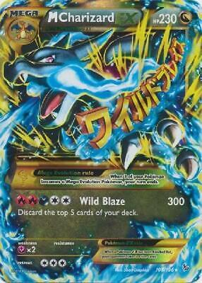 M Charizard-EX - 108/106 - Ultra Rare NM Pokemon XY Flashfire