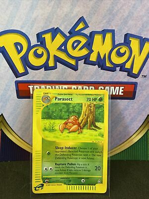Parasect 27/147 Aquapolis Reverse Holo Rare Pokemon