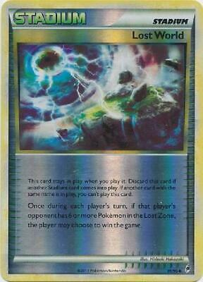 Lost World - 81/95 - Uncommon Reverse Holo Played Call of Legends Pokemon
