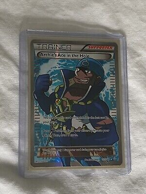 Pokemon - Archie's Ace in the Hole 157/160 - Full Art - XY Primal Clash - NM-M
