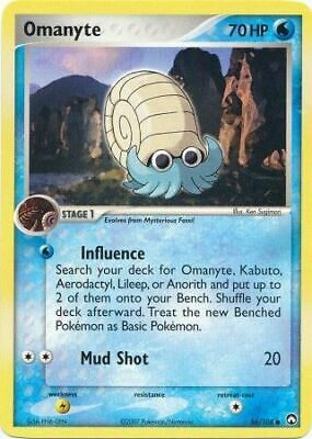 Omanyte - 56/108 - Common PL Power Keepers Pokemon 2B3