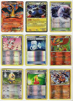 Pokemon Reverse Holofoil Holo Foil Trainer / Basic / Stages You Pick the Card