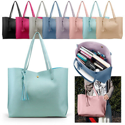 b2f0fd2f02 Women Synthetic Leather Handbag Shoulder Ladies Purse Messenger Satchel Tote  Bag
