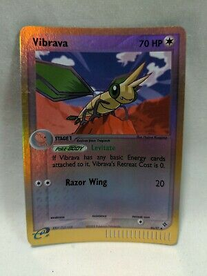 Pokemon Vibrava Card Holographic 46/97 EX Dragon