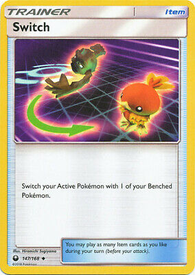 Switch 147/168 - Uncommon Pokemon Card - Celestial Storm Set (2018) - NM