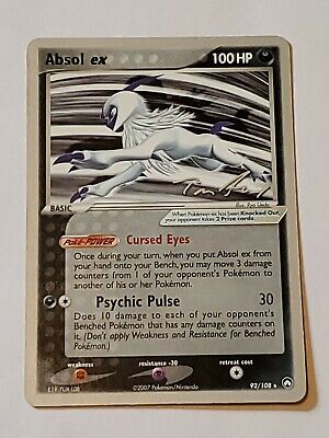 Absol Ex Power Keepers Pokemon World Championship 2007 Card