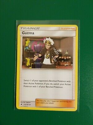 Guzma 115/147 Burning Shadows Pokemon TCG Card NM/M