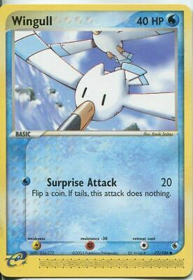 Wingull 77/109  Common | EX Ruby & Sapphire | Pokemon Card NM