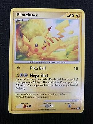 Pokemon - PIKACHU - 71/99 - NON HOLO - PLATINUM ARCEUS - MP