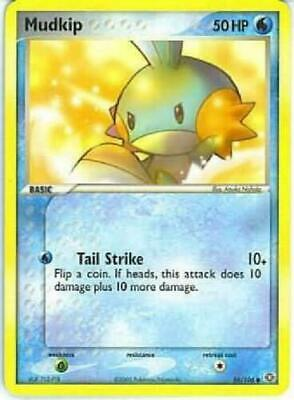 Mudkip 56/106 EX Emerald Common Pokemon Card NEAR MINT