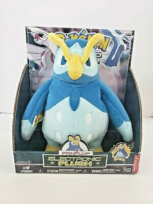 Pokemon Prinplup 2007 Electronic Plush Stuff Diamond and Pearl NOS in package