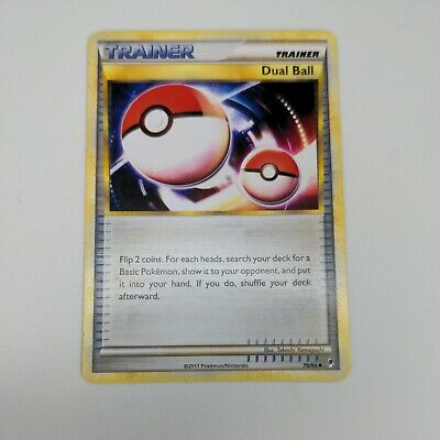Pokemon Call of Legends Trainer Dual Ball 78/95 - LP/MP