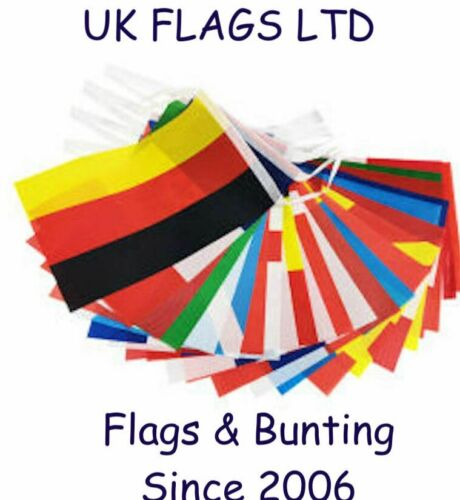 EURO 2020 2021 Flags & Party Bunting England Scotland Wales SPEEDY DELIVERY