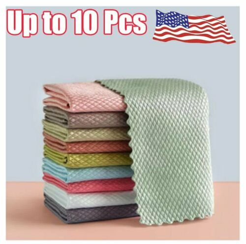 NanoScale Streak-Free Miracle Cleaning Cloths (Reusable)