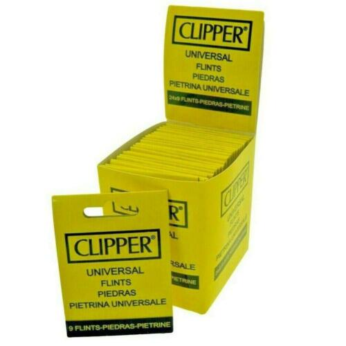 27 Clipper Replacement Flints Universal Fits Most Types Of Lighters.