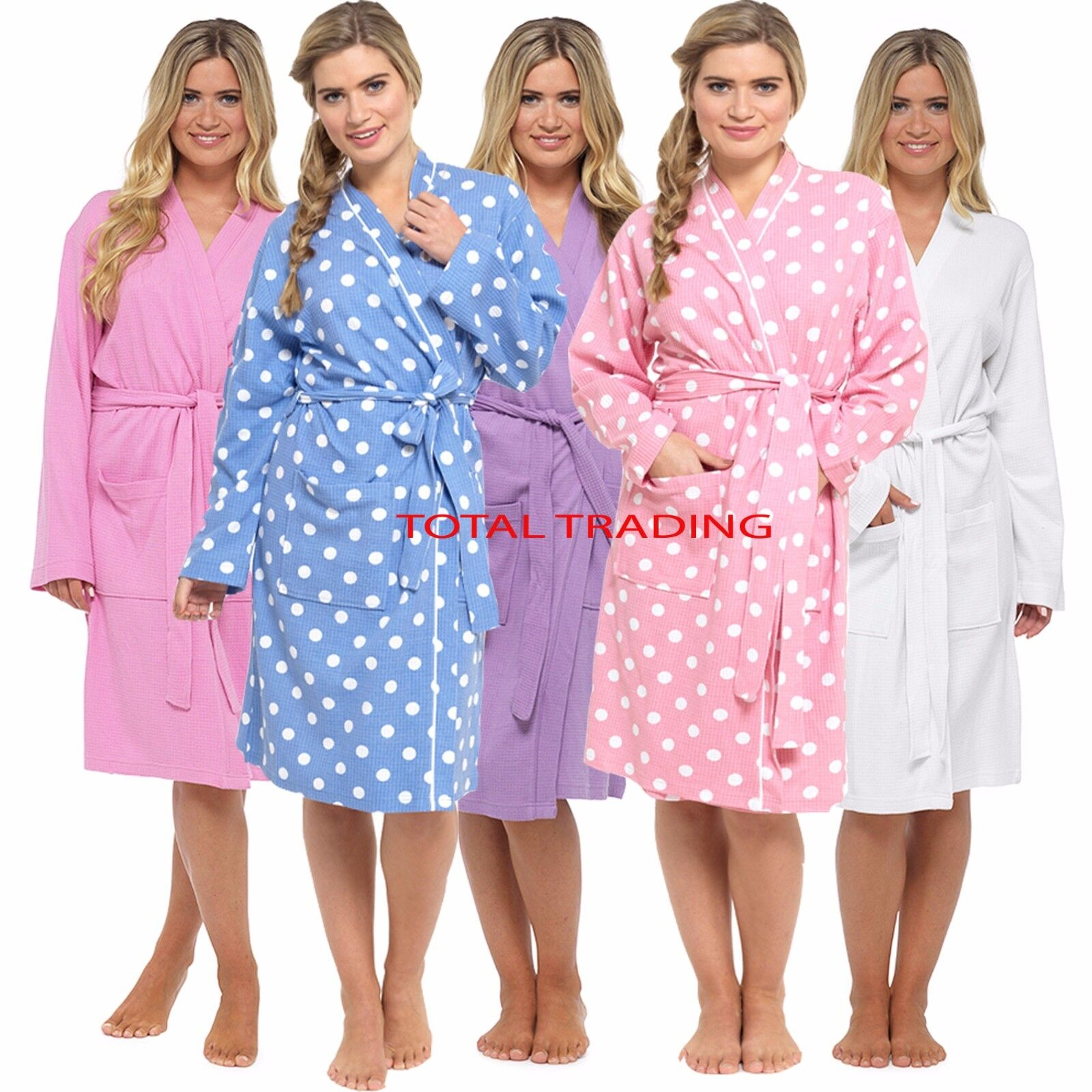 Best Waffle Dressing Gown Ladies deals | Compare Prices on dealsan.co.uk