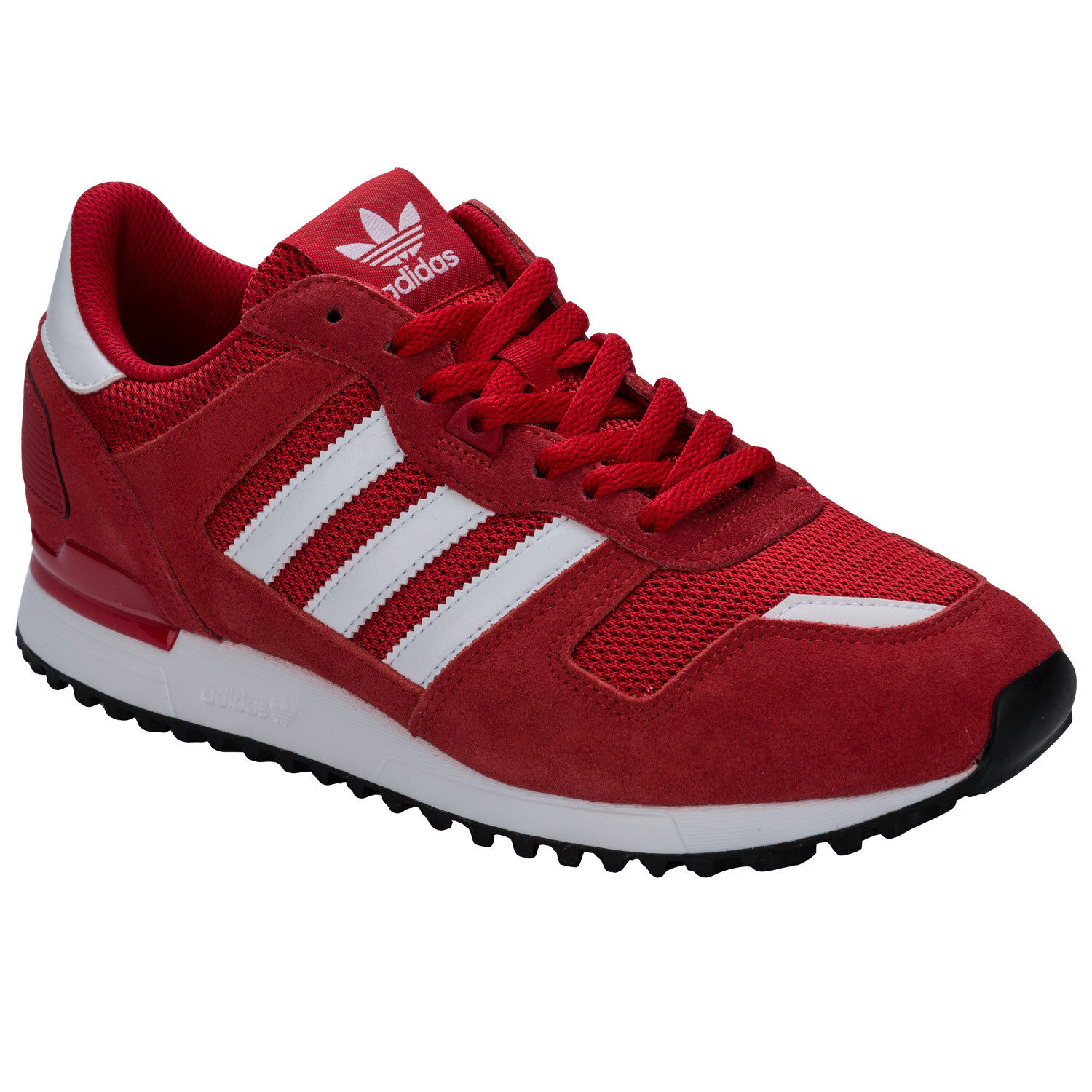 uomo adidas Originals Zx Flux 700 Scarpe sportive in rosso da GET THE LABEL
