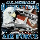 AIRFORCE GIFT PATRIOTIC USAF MILITARY Short Sleeve Gildan Ultra Cotton T-shirt