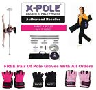 ★ X-POLE XPERT New 2014 Version -The Worlds Best Selling Static/Spinning Pole ★
