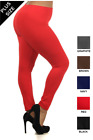 Cotton Leggings Ankle Full Length! TOP QUALITY! SUPER SIZES 24-28!