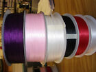 3MM X 25M DOUBLE SIDED LUXURY SATIN RIBBON PICK COLOUR