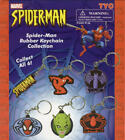MARVEL SPIDERMAN KEYCHAINS RUBBER DIE CUT GREEN GOBLIN