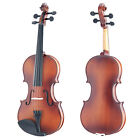 Mendini Solid Wood Violin Size 4/4 3/4 1/2 1/4 1/8 1/10 1/16 1/32