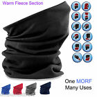 MORF FLEECE Multi Use Neck Warmer, Snood, Head Over, Skiing, Cycling & Sport
