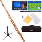 Mendini C Flute ~Silver Gold Blue Green Pink Purple Red +Tuner+Stand+Carekit
