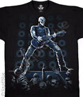 NEW Music Mosh Pit Guitar  Skull Rock Skeleton Band Premium T Shirt M  L XL 2X