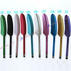 Feather Capacitive Stylus Touch Screen Pen for iPhone 4G 4S 3GS iPod Candy Color