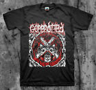 GOREROTTED 'Tools' T shirt (Carcass Exhumed The Rotted Death Metal)