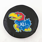 Kansas Jayhawks Black Vinyl Spare Tire Cover