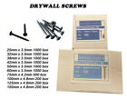 Drywall Plasterboard Screws 25,32,38,42,50,60,75,90,100,125,150mm