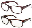 Thick Frame Clear Lens Glasses Quality Structure Square Frame Modern Emo Nerd