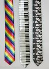 Themed Playing Cards / Piano Keys / Rainbow 150cm Neck Ties UK Shirt Tie