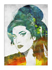 2596 Amy Winehouse Canvas Music Gallery Wrapped Wall Art Print