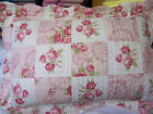 Quilted Patchwork Bedspread with 2 matching pillowshams for double bed