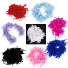 New Feather Boa Princess Costume Dress Up Hair Hairbow Scarf Party Wedding Craft