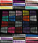 22 Colours Selections of 100 pcs Fish Bone Style French Nail Tips (with Well)