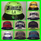 BRAND NEW FLAT PEAK VINTAGE LOSANGELES (LA) SNAPBACK BASEBALL CAP WITH TAGS