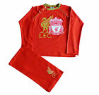 Official Liverpool Football Club Long Pyjamas 8 9 10 11 12  Years