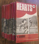 1976-1980 Hearts/Heart of Midlothian Home Programmes *Pick Opponents*